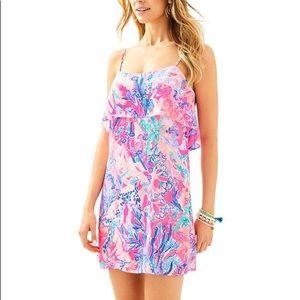 NWT Lilly Pulitzer Lexi Dress-Aquadesiac, Size M